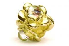 Gouden Trollbeads met Glas