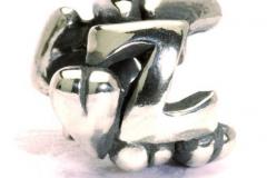 Zilveren Trollbeads Alfabet