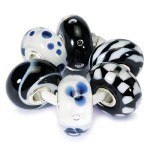 Trollbeads Black + White set