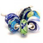 Trollbeads Blauw Groene set – Retired Trollbeads